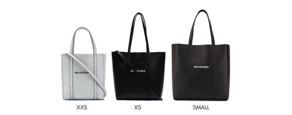 Balenciaga Everyday Tote Bag Size