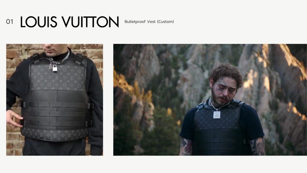 Louis Vuitton Bulletproof Vest (Custom)