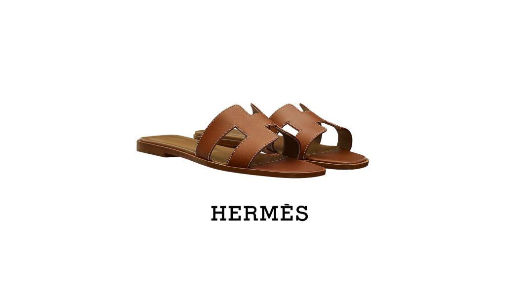 ร้องเท้าแบรนด์เนม-Hermes Oran Sandal