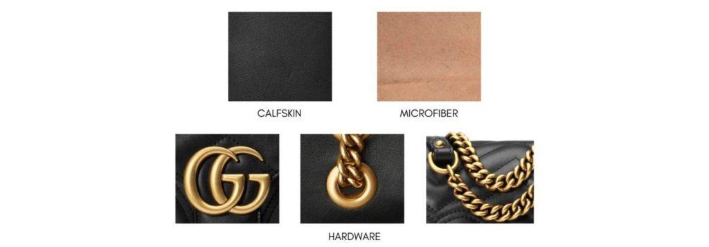 Gucci Marmont Materials (วัสดุ)