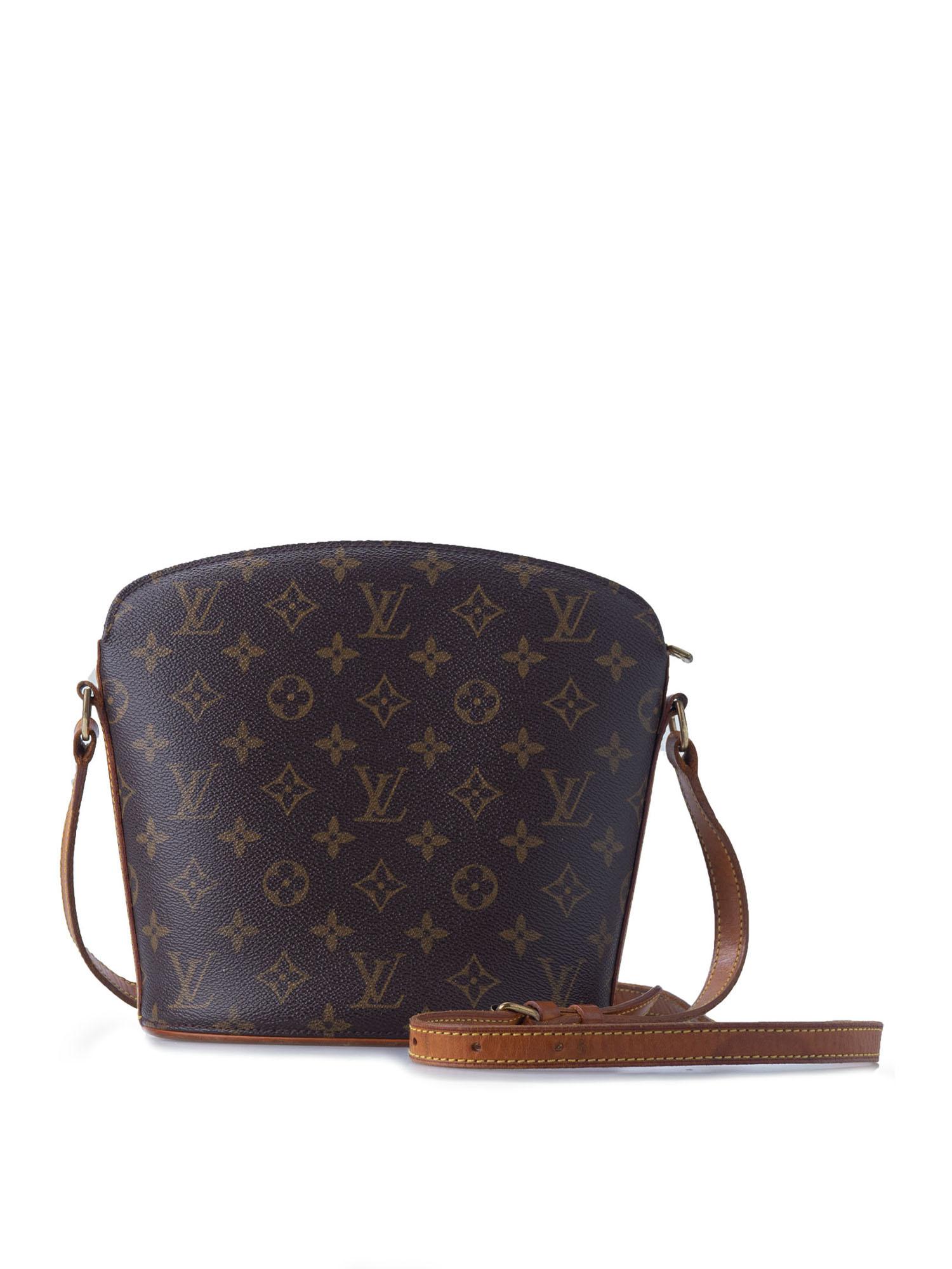 Louis Vuitton Vintage Drouot Monogram Crossbody BagArtboard 1