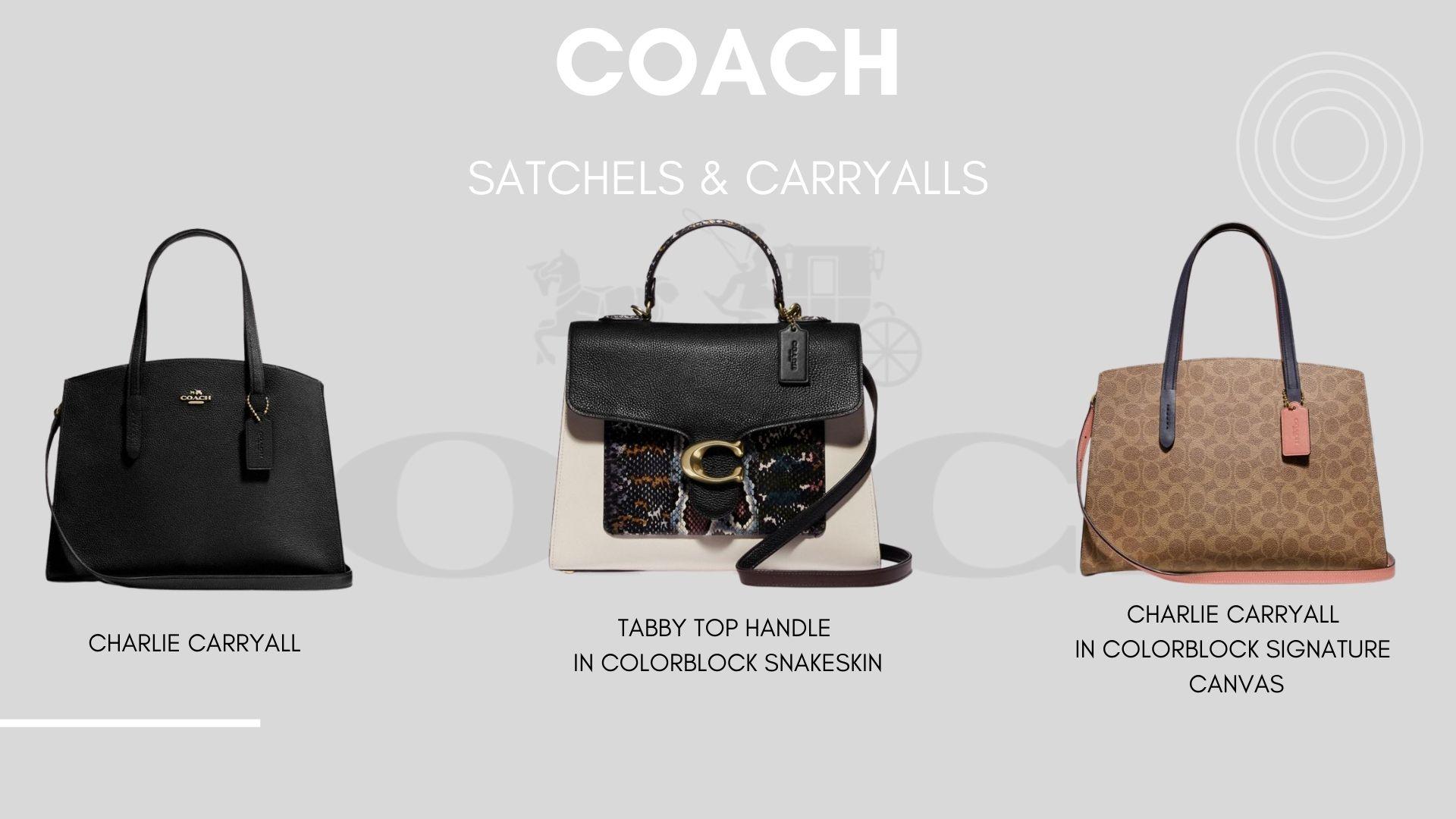 Coach Satchels & Carryalls