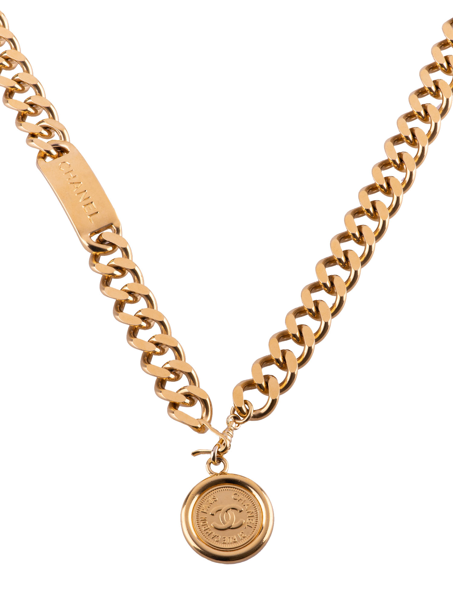 Chanel Name Plate Chain Belt NecklaceArtboard 2