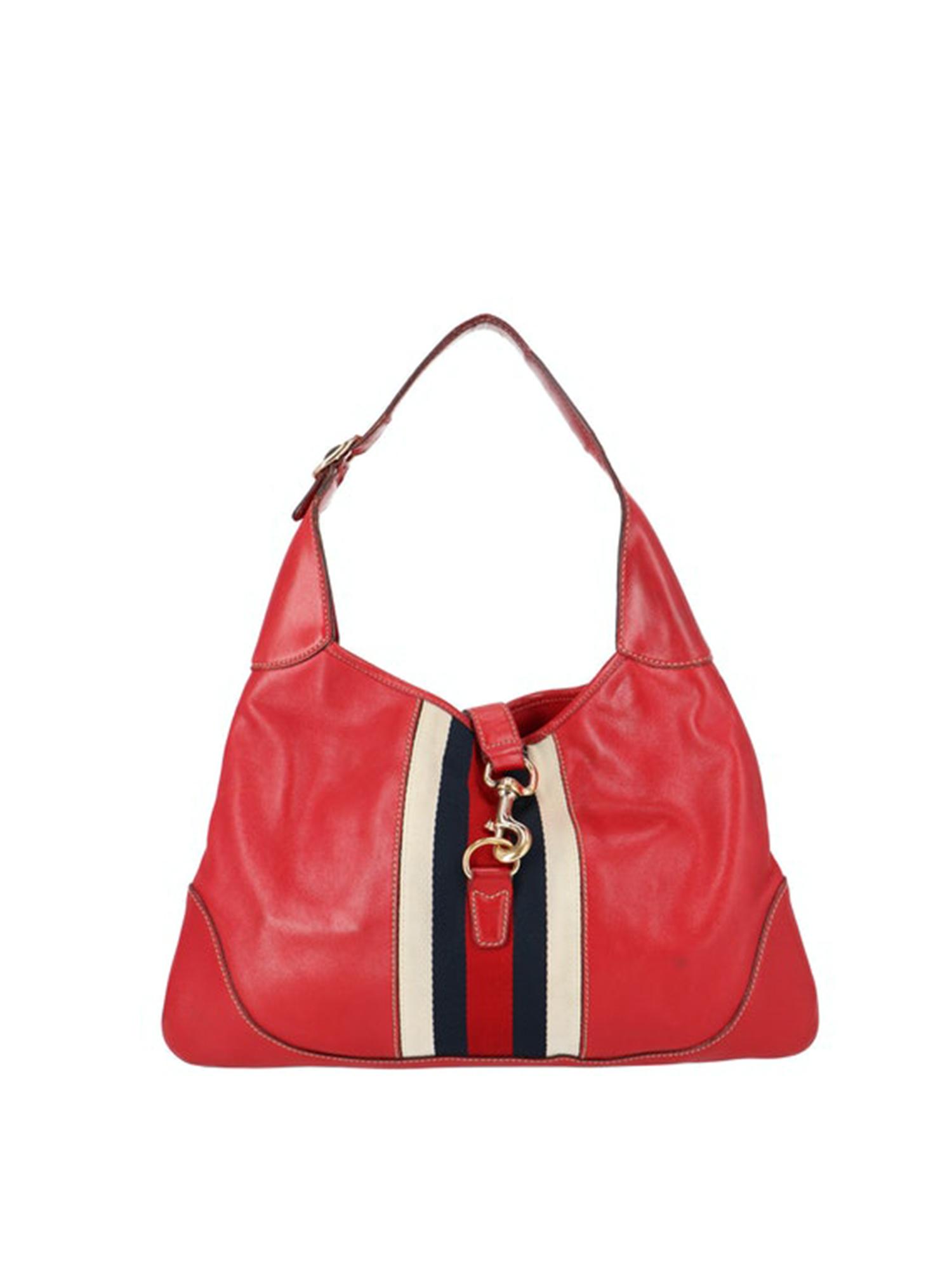 gucci Jackie red vintage