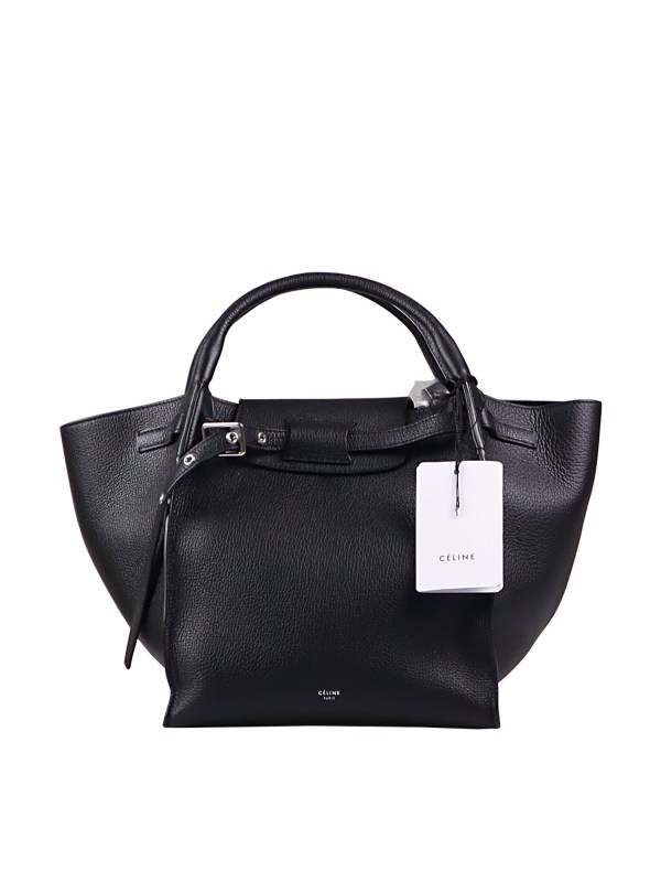 Celine-Small-Big-Bag-with-Long-Strap-in-Black-1-1