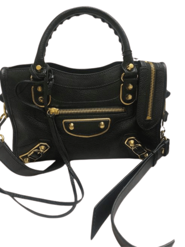 Balenciaga Metallic Edge City Mini Shoulder Bag