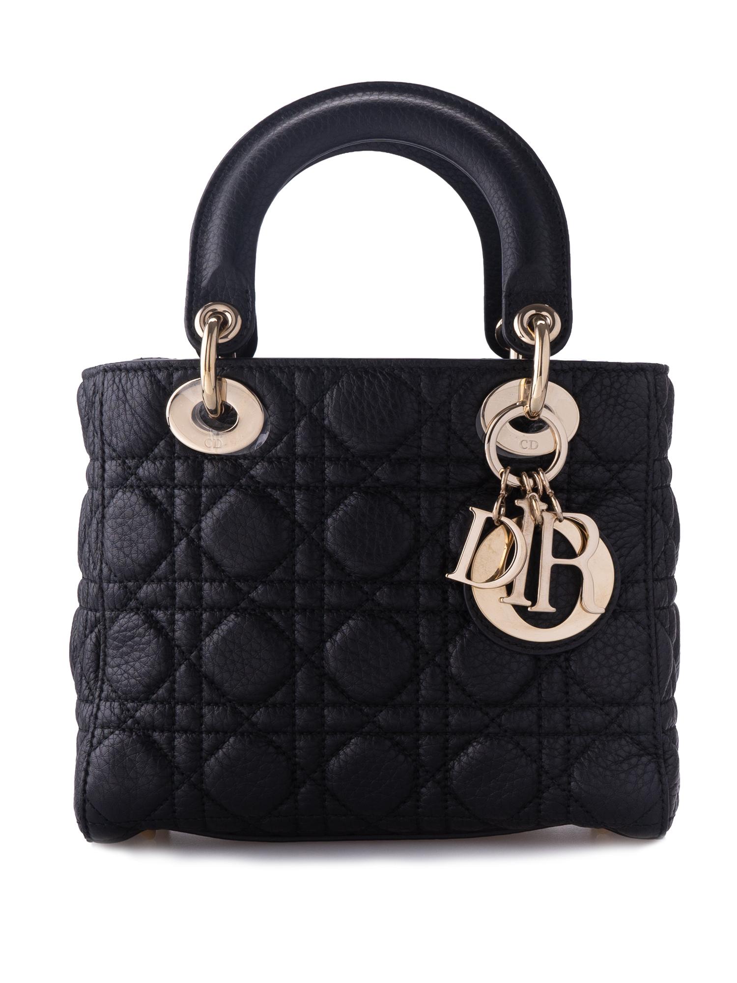Christian Dior Mini Lady Black
